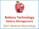 battery-technology-battery-management-2017-webinar-recording