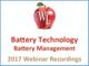 battery-technology-battery-management-2017-webinar-recording