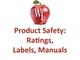product-safety-ratings-labels-manuals
