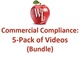commercial-compliance-5-pack-of-videos-bundle-single-license