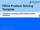 pdca-problem-solving-project-template-course
