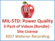 mil-std-power-quality-3-pack-of-videos-bundle-site-license-2017-webinar-recording