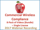 commercial-wireless-compliance-8-pack-of-videos-bundle-single-license-2017-webinar-recording
