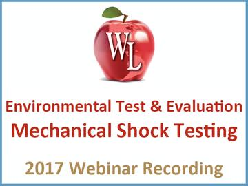 Environmental Test and Evaluation: Mechanical Shock Testing [2017 Webinar Recording]