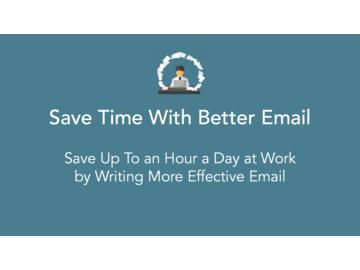 Save Time With Better Email