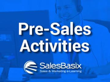 Pre-Sales Activities Training Set