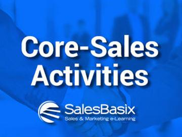 Core-Sales Activities Training Set