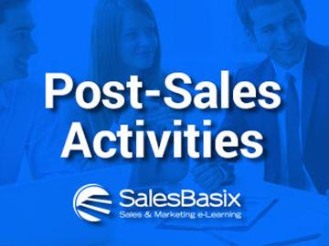Post-Sales Activities Training Set