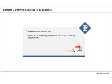 Exercise 2 - Defining Business Requirements