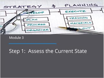 Module 3 - Assess the Current State
