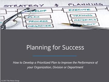 Planning for Success Course Overview