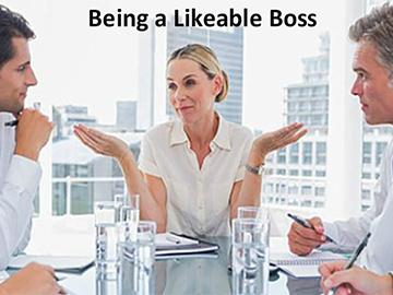 Being a Likeable Boss Course
