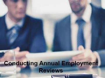 Conducting Annual Employee Reviews Course