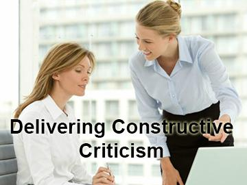 Delivering Constructive Criticism Course