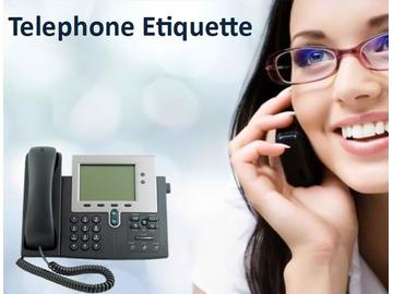 Telephone Etiquette (Course)