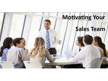 Motivating Your Sales Team (Course)