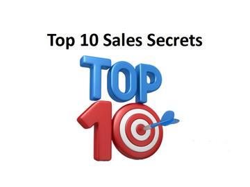 Top 10 Sales Secrets