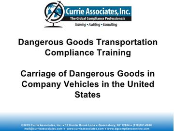 Currie Materials of Trade - US