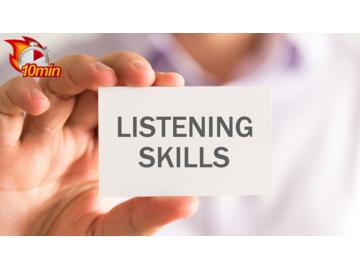 Listening Skills Course