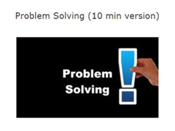 Problem Solving Course