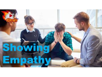 Showing Empathy