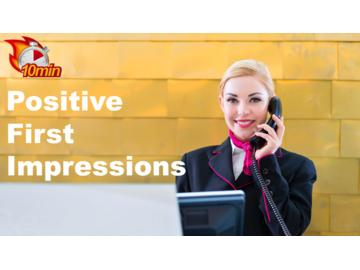 Positive First Impressions Course