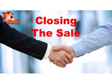 Closing the Sale Course