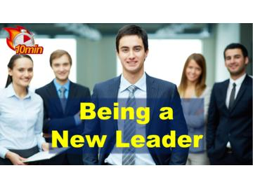 Being a New Leader