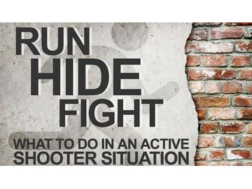 Run, Hide, Fight: What to Do in an Active Shooter Situation (Course)