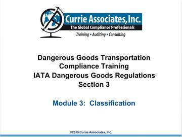 3.IATA Classification