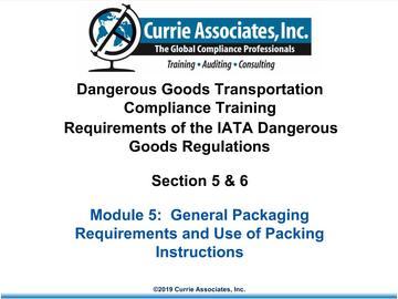 5.IATA Packaging