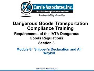 8.IATA Documentation
