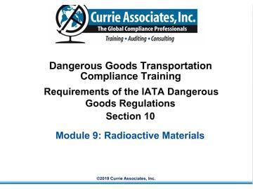 9.IATA Radioactives