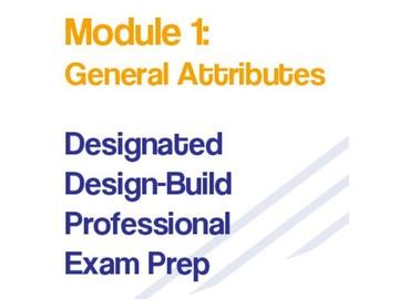 Module 1- General Attributes - DDBPEP