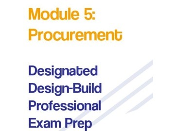 Module 5 - Procurement - DDBPEP