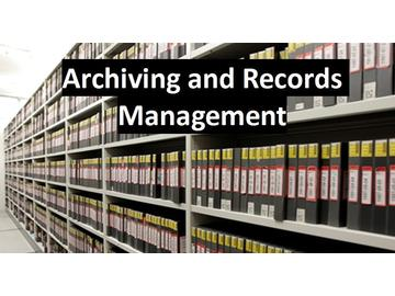 Archiving and Records Management (Course)