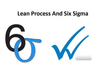 Lean Process and Six Sigma (Course)