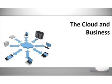 The Cloud and Business (Course)