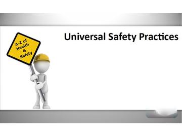 Universal Safety Practices (Course)