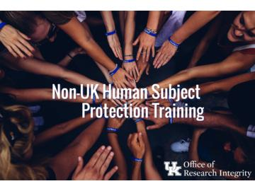 Non-UK HSP Training
