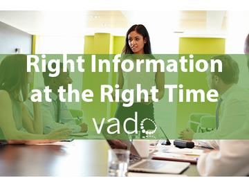 Right Information at the Right Time Course