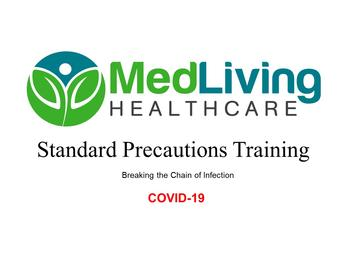 Standard Precautions Training - COVID19