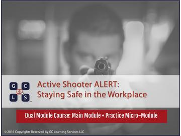 Active Shooter ALERT: Staying Safe in the Workplace (Course)