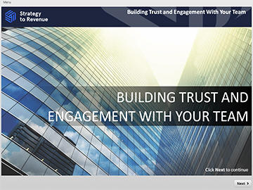 Building Trust and Engagement with Your Team (for Managers) Course