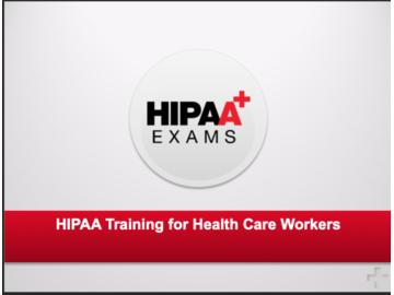 HIPAA for Healthcare Workers Course