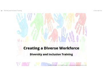 Diversity and Inclusion Training Course