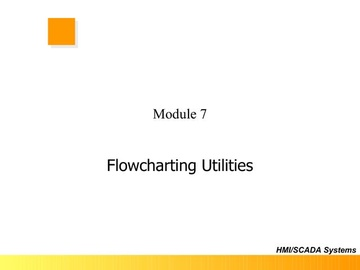 FloPro Module 7 - Flowcharting Utilities