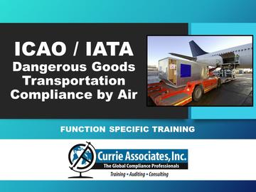 Dangerous Goods Transportation Compliance by Air (ICAO/IATA) 62nd Edition 2021