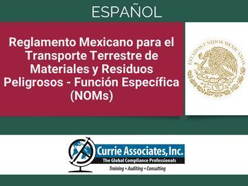 Entrenamiento Normas Oficiales Mexicanas (NOMS) (2021) - Español
