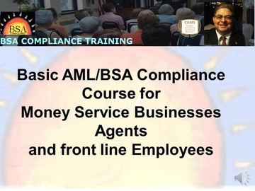 Basic BSA/AML Compliance E-Course